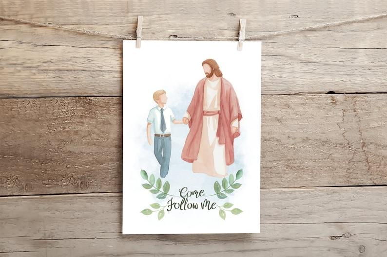 Come Follow Me Come Follow Me Printable Jesus with children image 5