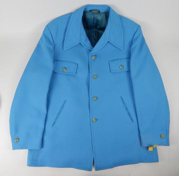 "1960's 1970's Men's Polyester ""Curlee"" ""Tom's Clot"