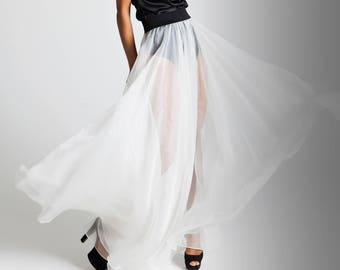 Gonna organza / Silk Organza Skirt