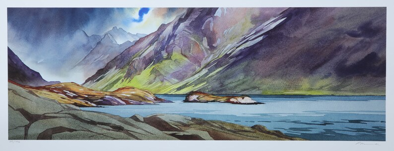 Changeable in the west  Loch Coruisk  Isle of Skye image 0