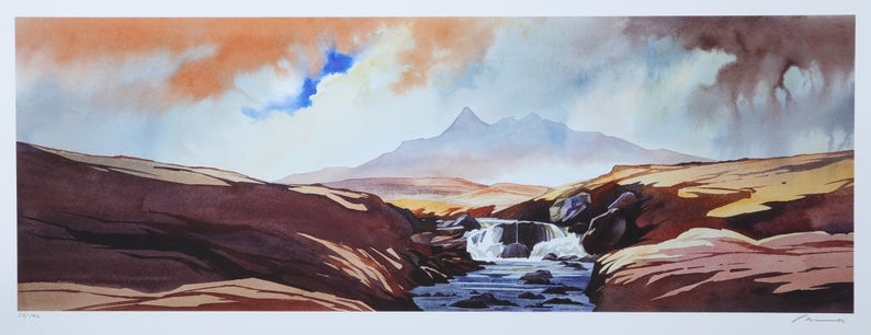 After the rain  the Black Cuillin  Isle of Skye image 0