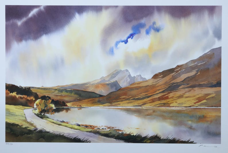 On the road to Blaven  Isle of Skye image 0