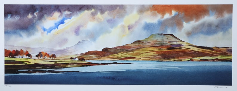 Autumn paints the Tables  Loch Dunvegan  Isle of Skye image 0