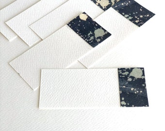 "Small tag 6 pcs ""Night sky"""