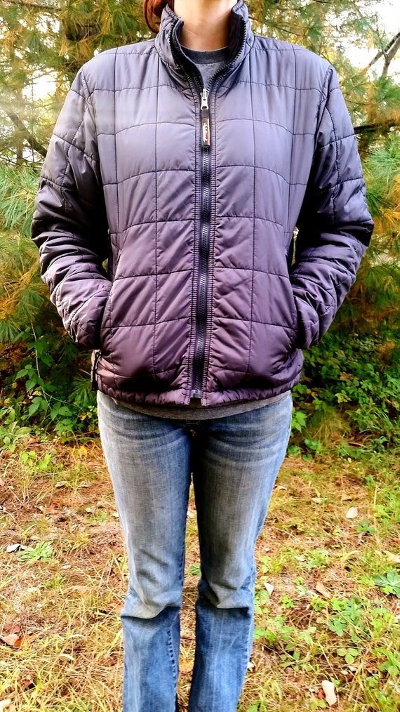 4aa74ae5e123a L.L.Bean 90 s Puffer Jacket    Black Size Small   Vintage