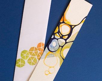 Original Handpainted Bookmark | Originel handbemaltes Lesezeichen | Unique Design | Einzigartiges Design