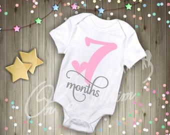 Custom Baby Onesie / Month Onesies