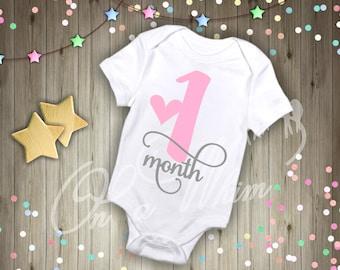 Custom Baby Onesie / 12 month Set