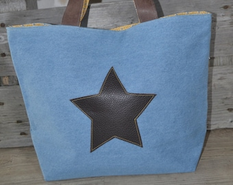 BLUE JEANS TOTE