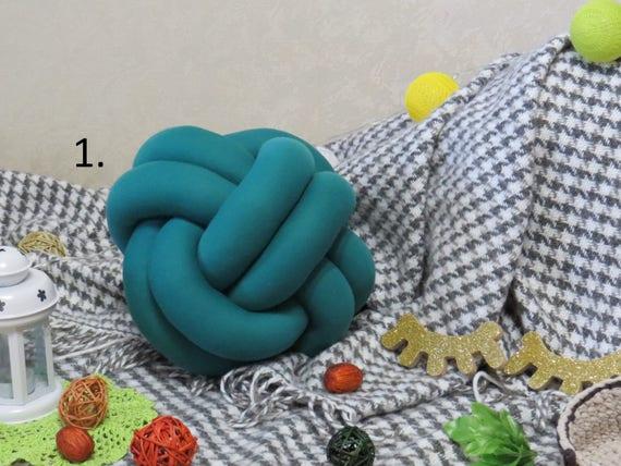 Noeud de coussin, canapé, coussin, coussin noeud, coussins créateurs, coussin décoratif, coussin moderne, minimaliste oreiller, coussin tendance, coussins de canapé