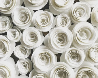 25 Handmade 3D Paper Flowers