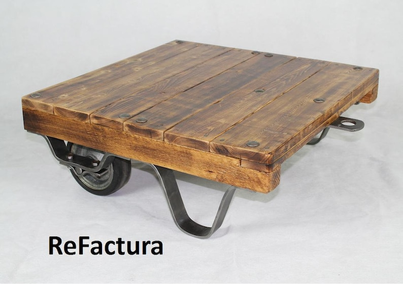 Trolley Coffee Table.Small Pallet Trolley Coffee Table Lofttisch Industrila Table Palette Table Coffee Table Upcycling Table