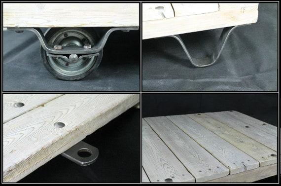 Palettenwagen, Lofttisch, Couchtisch, Shabby Chic, Palettentisch, Vitage  tisch, Industrial tisch, Rollpalette, Palettenrollwagen