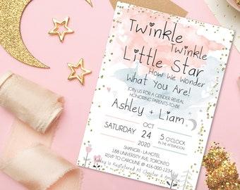 Animal Baby Shower Invitewoodland Baby Shower Invitation Etsy