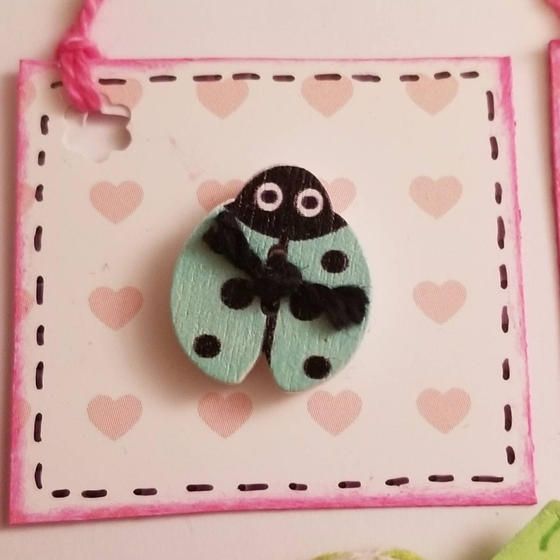 1 dozen 3 D Embellishments Handmade scrapbooking cardmaking gift tags party favors placecards journals /& planners any theme