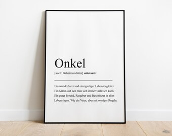 Definition poster | Etsy