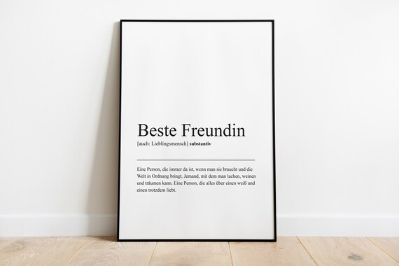 Definition Beste Freundin