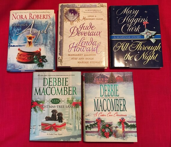5holiday Christmas Fiction Romance Booksnovelsdebbie Etsy