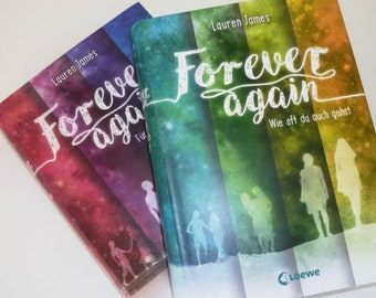 Signed and personalised hardback copy of The Next Together or The Last Beginning in GERMAN - Forever Again