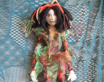 Woodland fairy PIXIE doll