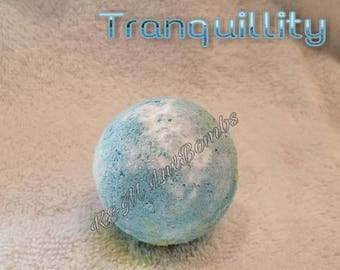 Tranquility - Essential oil luxury bath bomb 3 pk or 6 pk
