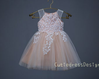 tan netting made in TX USA Couture dress Ella yellow maize straight tulle skirt,sash with rhinestone Easter dress Ivory French lace