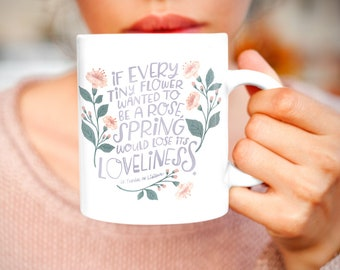 St. Therese - Loveliness - Ceramic Mug