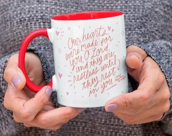 Restless Heart - St. Augustine - Mug