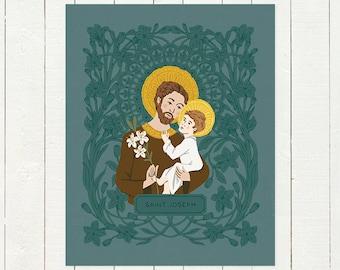 St. Joseph - Digital Print