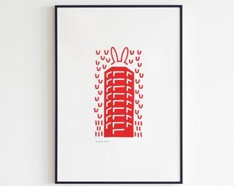 Neudeflat - Utrecht Icons (Print)