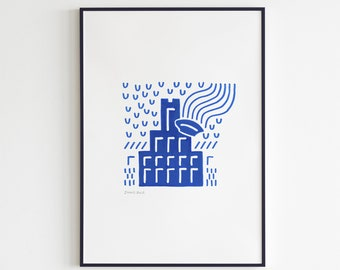 Inkwell - Utrecht Icons (Print)