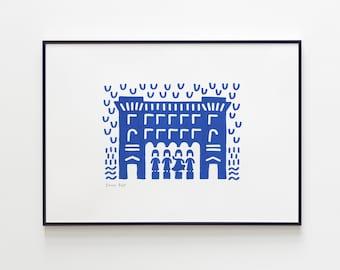 Sinkel 's shop - Utrecht Icons (Print)