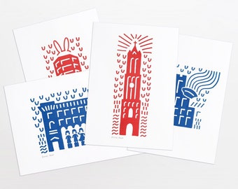 Utrecht Icons - Maps (set of 4)