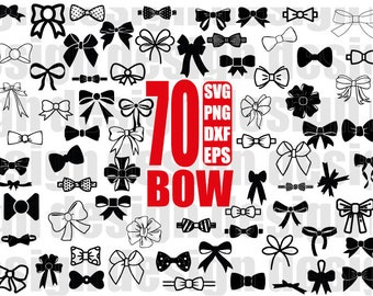 bow svg, ribbon bow svg, girl bow svg, hair bow svg, hair ribbon svg, ribbon bow svg, bow monogram, silhouette , cut file, stencil, iron on