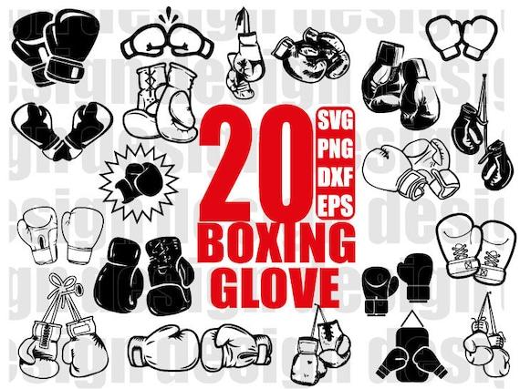Boxing Glove Svg Glove Svg Boxing Svg Fighting Svg Mma Etsy