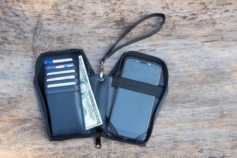 Coffin phone case,Vampire case,Leather case,pad folio,case,leather holder,clutch,woman,Man,Case,Nosferatu