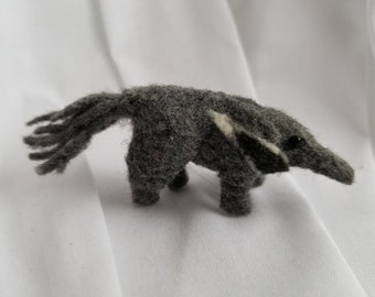 Handfelted Anteater