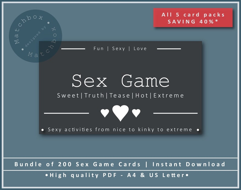 Fun sex games with wife
