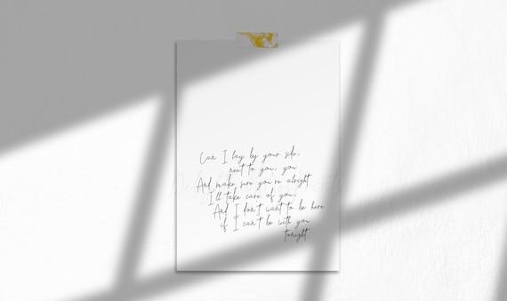 Rapper/'s Delight Vinyl Record Canción Letra Impresa