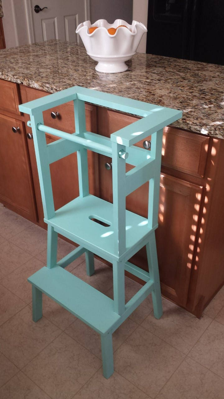 Little Helper Stools / Learning Tower / Toddler Step Stool / | Etsy