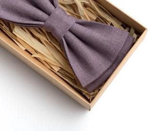 09488c050850 Lilac gray tie, Lilac gray bow tie, pre tied bow ties, groomsmen gifts,  gift for groomsmen, ties for men, handkerchiefs