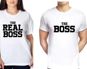 I Am The Boss No Question Just Say T-shirt Vest Tank Top Men Women Unisex 1031