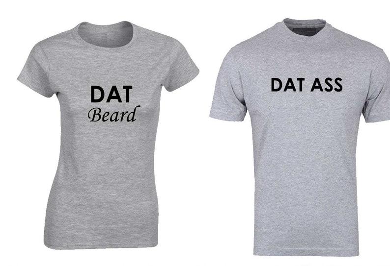 6adf273f Funny Cute Dat Ass Dat Beard T Shirt-Tank Top | Etsy