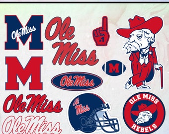 Ole Miss Rebels Etsy