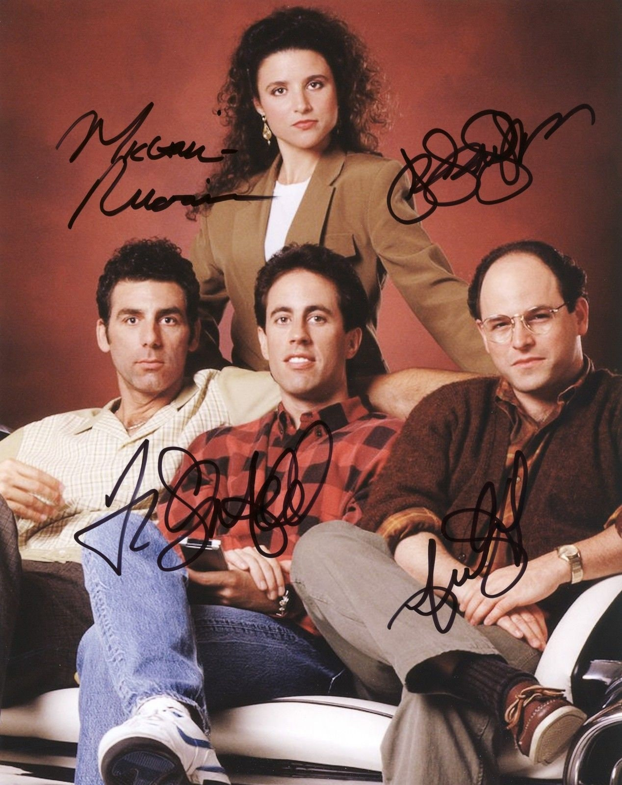 SEINFELD CAST signed autographed 8x10 PROFESSIONAL photo Pre   Etsy