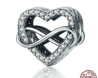 Endless Love Infinity Love Charm
