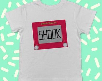 Etch-A-Sketch Shook Infant T-Shirt