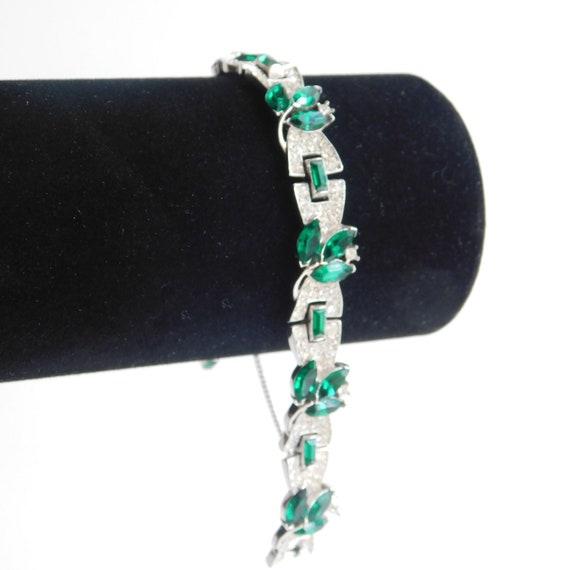 Crown Trifari Bracelet, Rare Crown Trifari Bracele