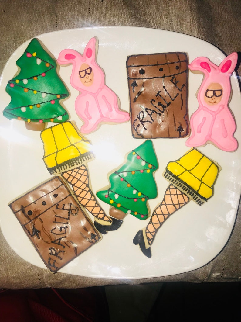 A Christmas Story Decorated Cookies