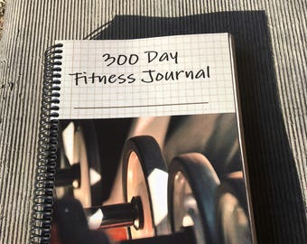 300 Day Fitness Journal